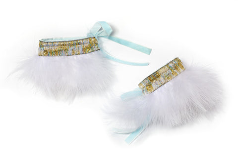 Fanciful Feather Cuffs