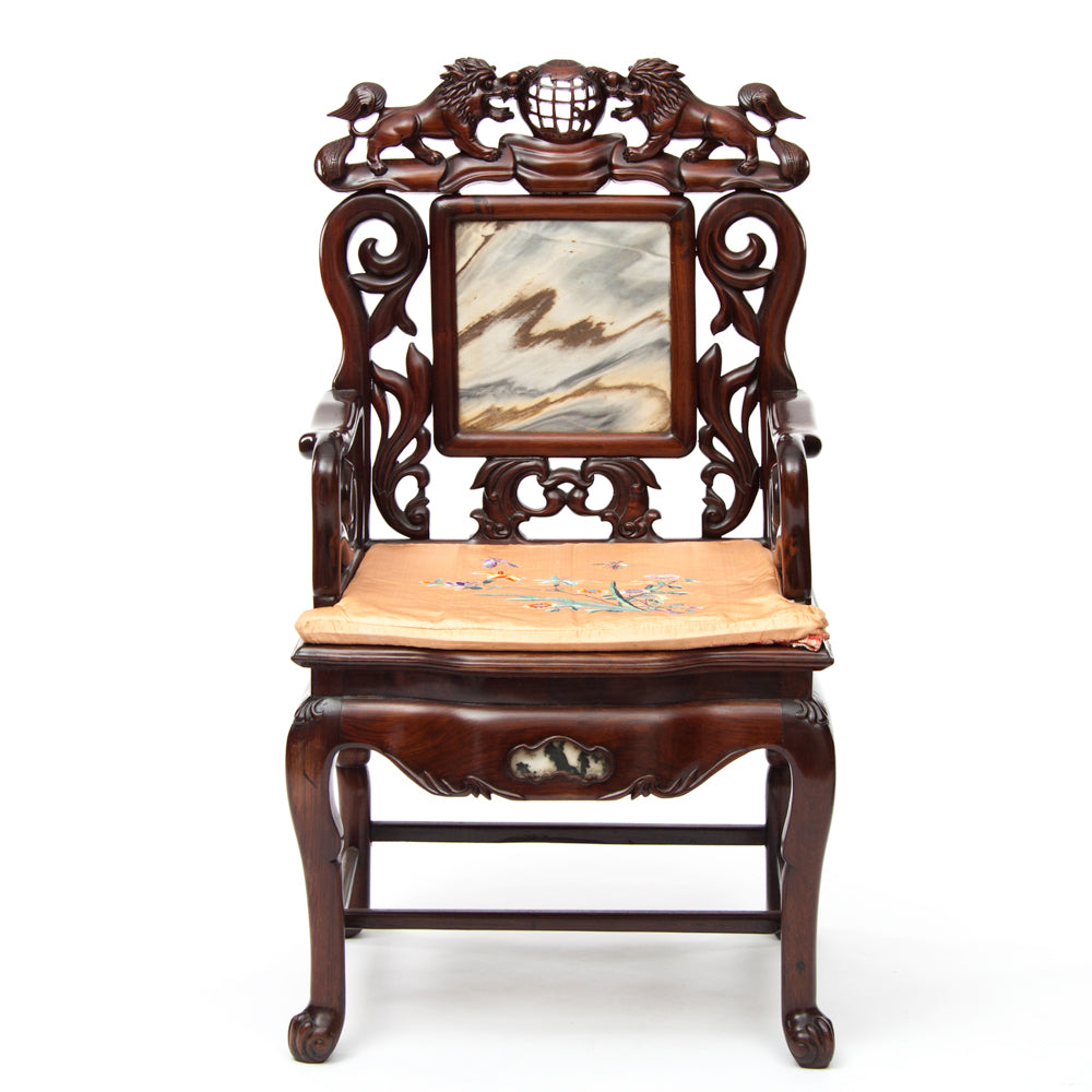 Special feature - early 20th century Rosewood  furniture setting