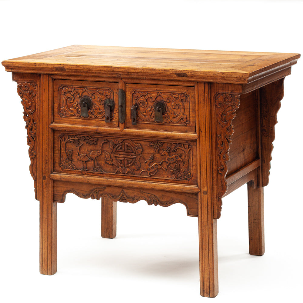 Two drawer altar table
