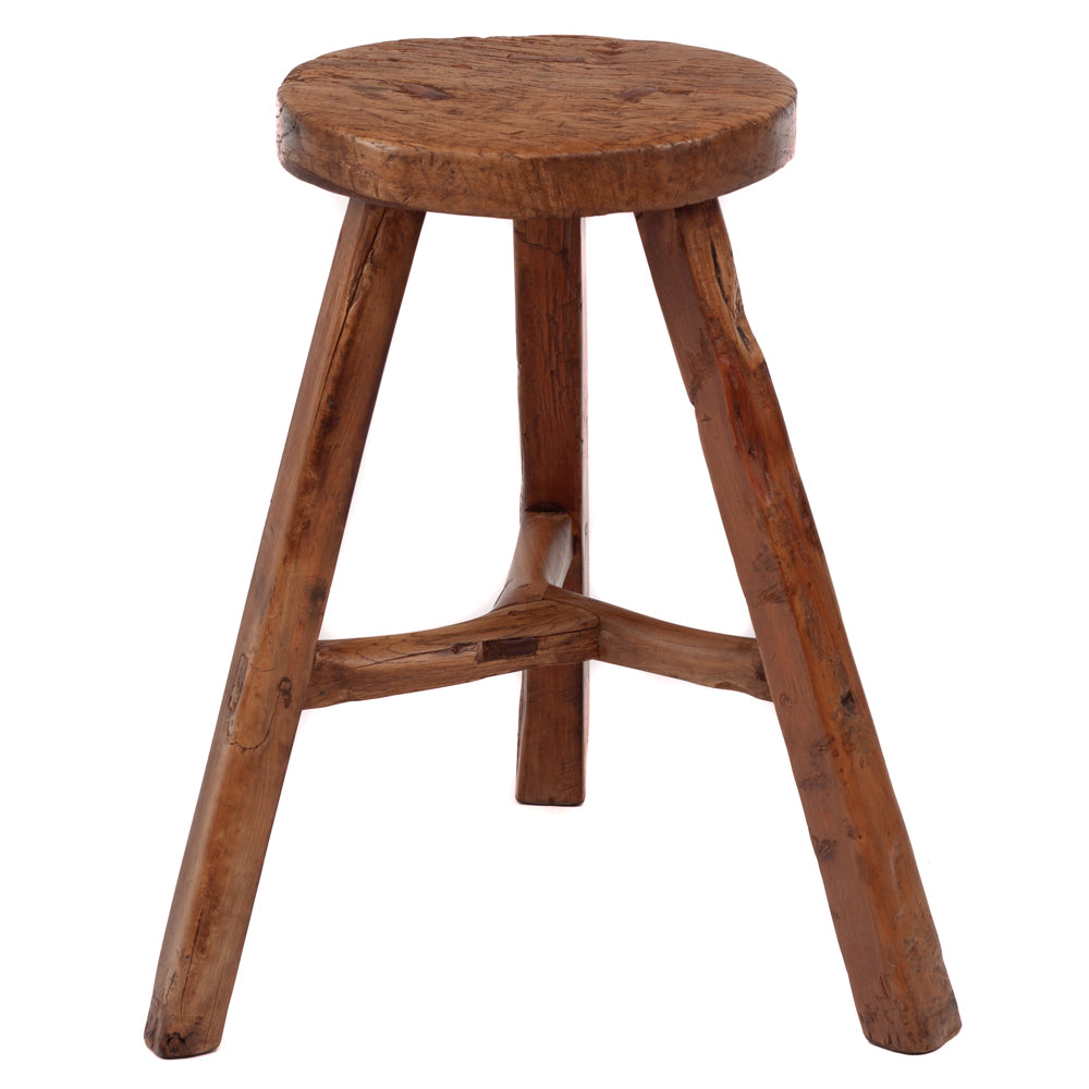 Three leg round stool