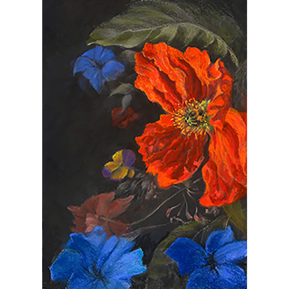 Baroque poppy by Roger Beale