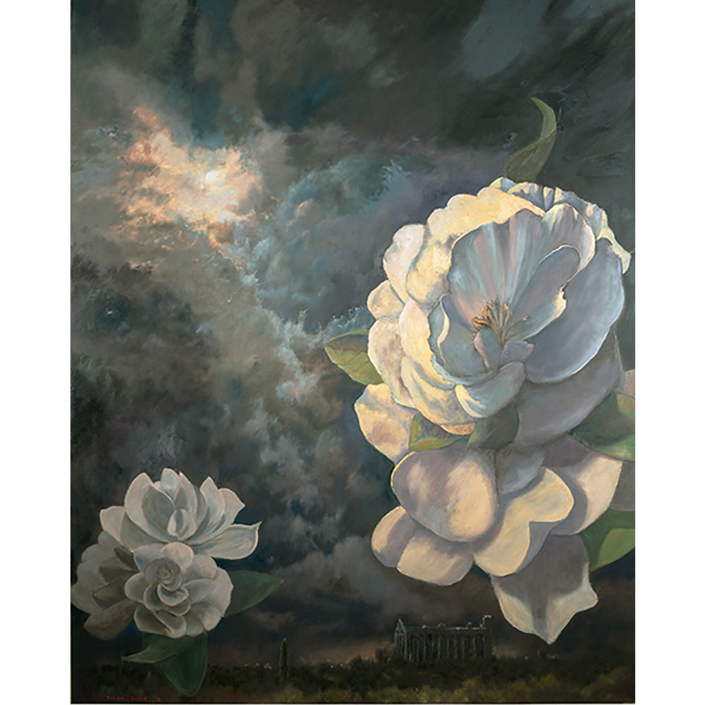The scent of gardenias on the night air by Roger Beale