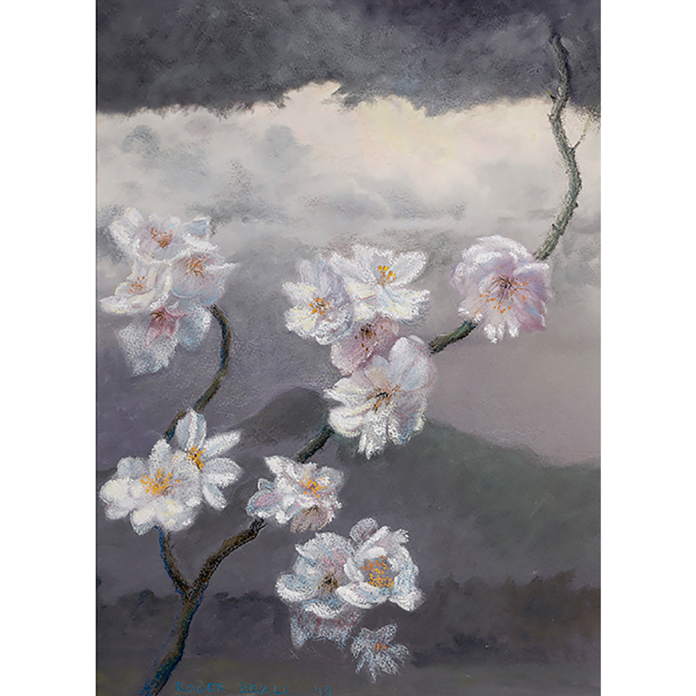 Study for Japanese blossoms by Roger Beale