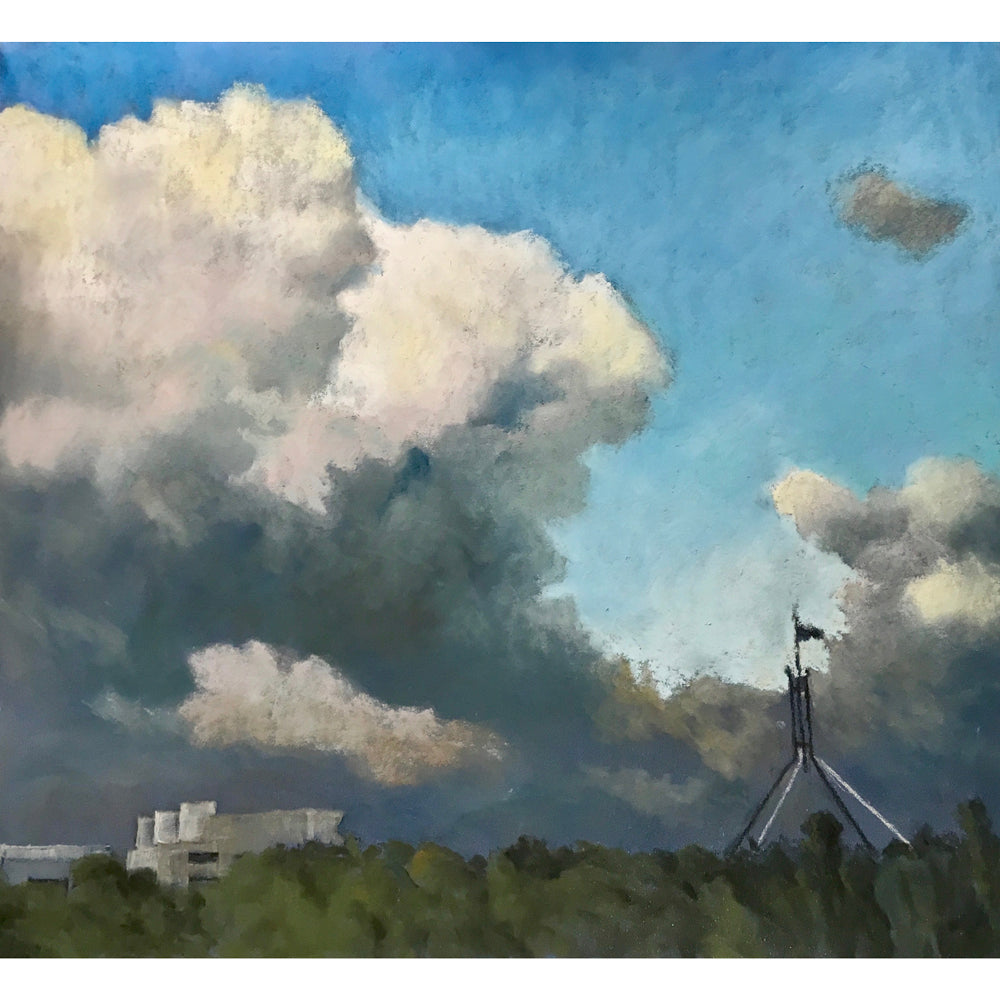 Canberra clouds by Roger Beale