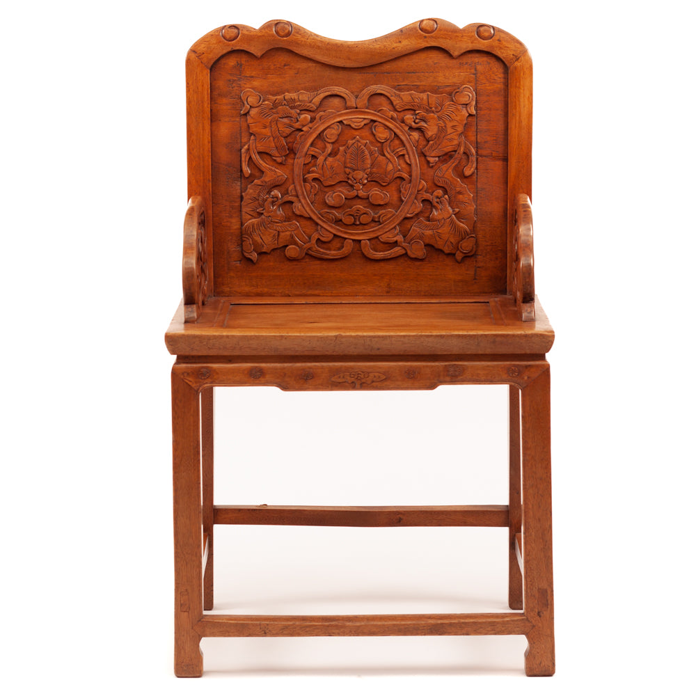 Armchair with Five Blessings motif