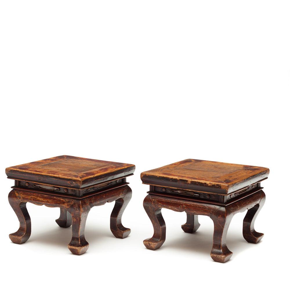 small chinese stools, low chinese stool