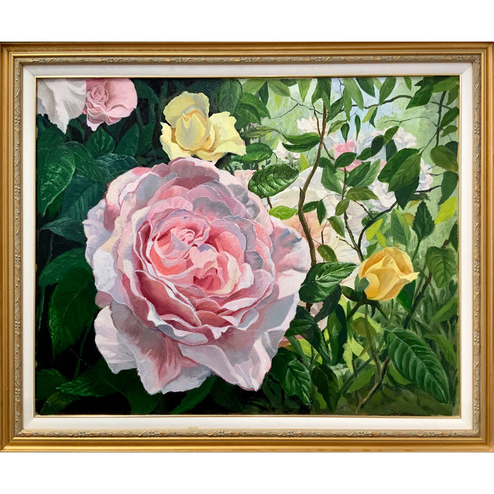 Spring roses by Roger Beale