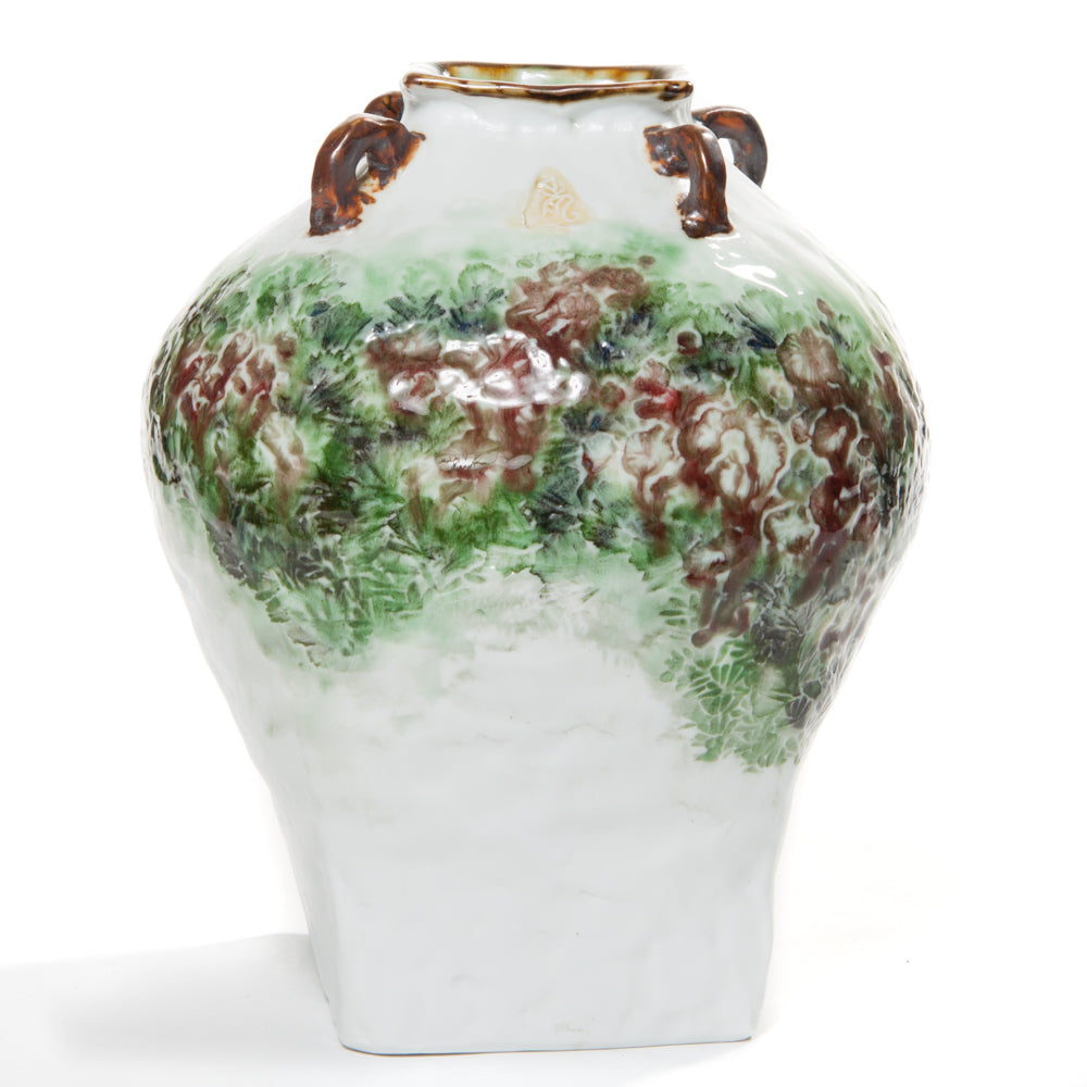 porcelain vase by Wang Fangcheng