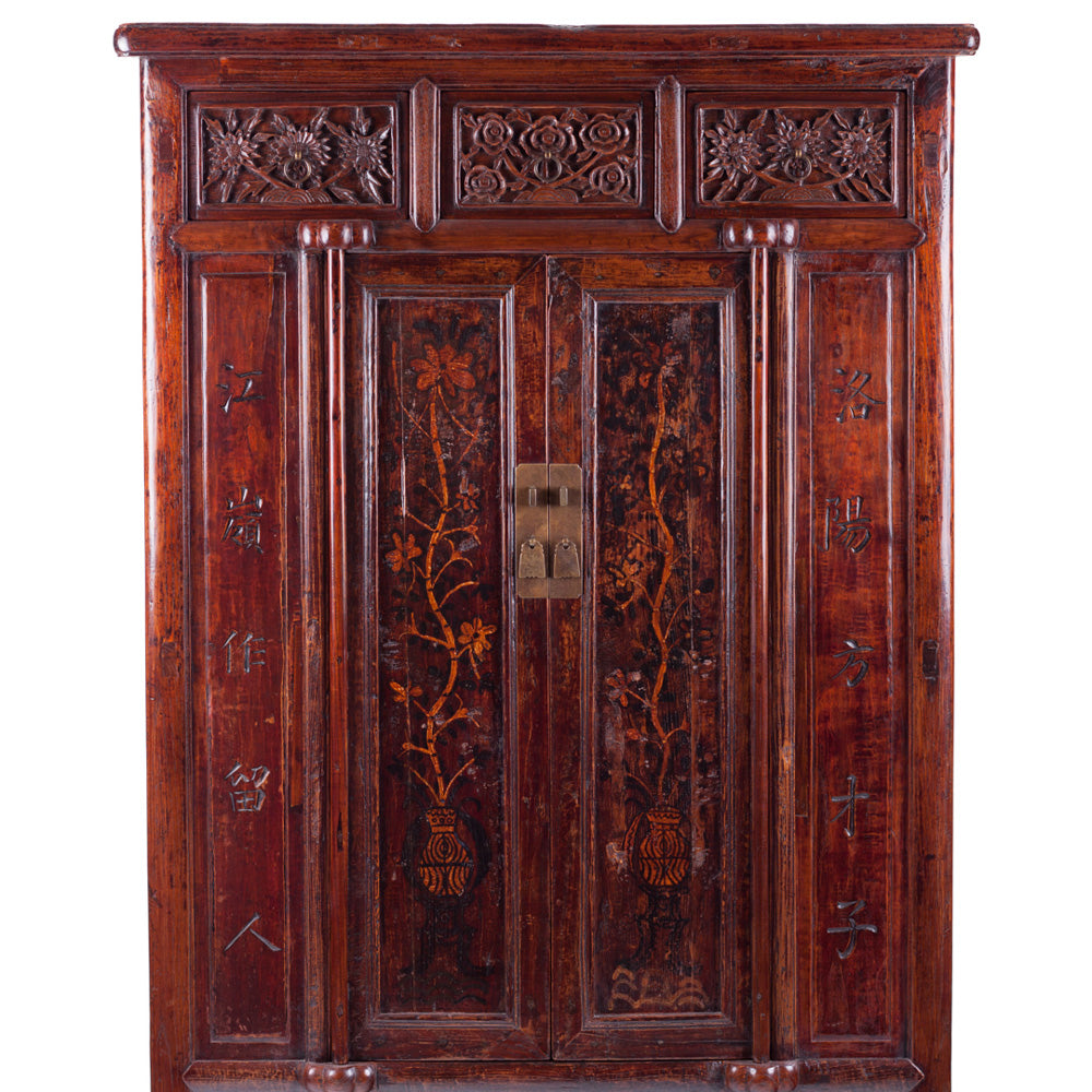 chinese cabinet with carving