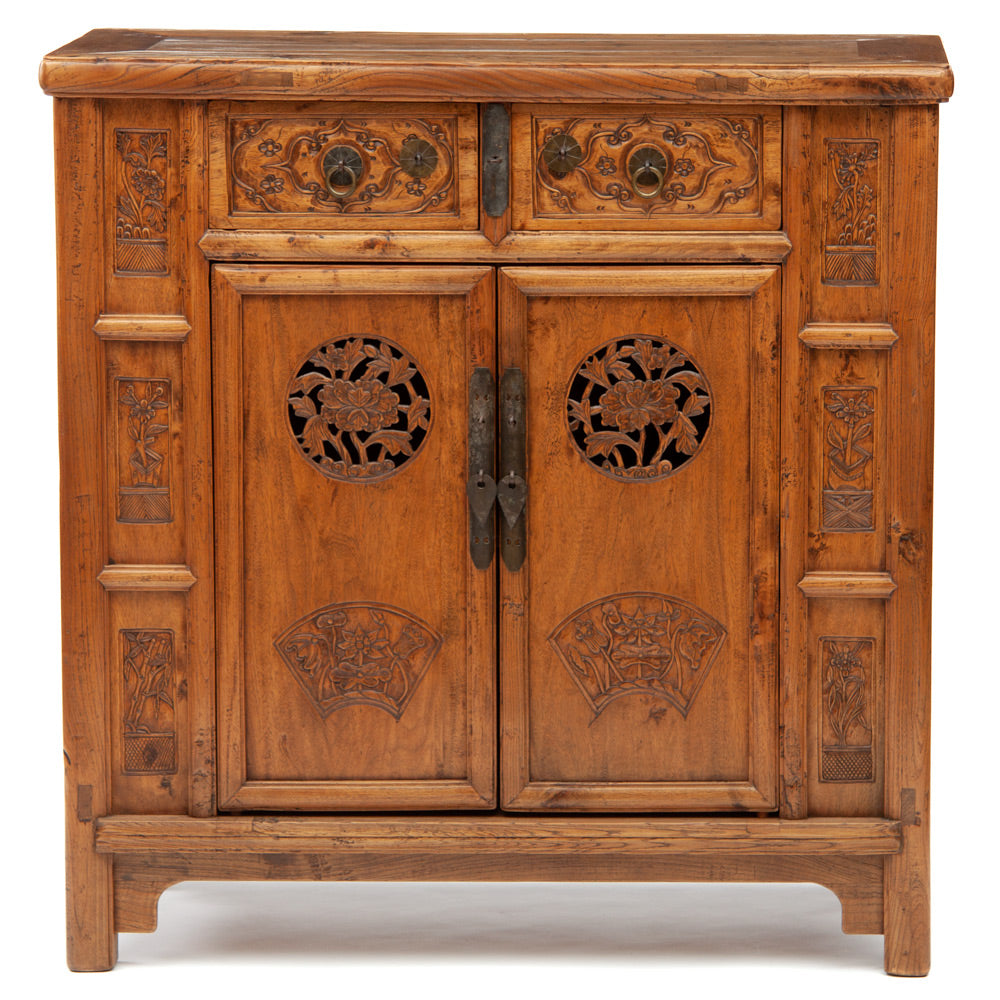 Wedding cabinet with floral motifs