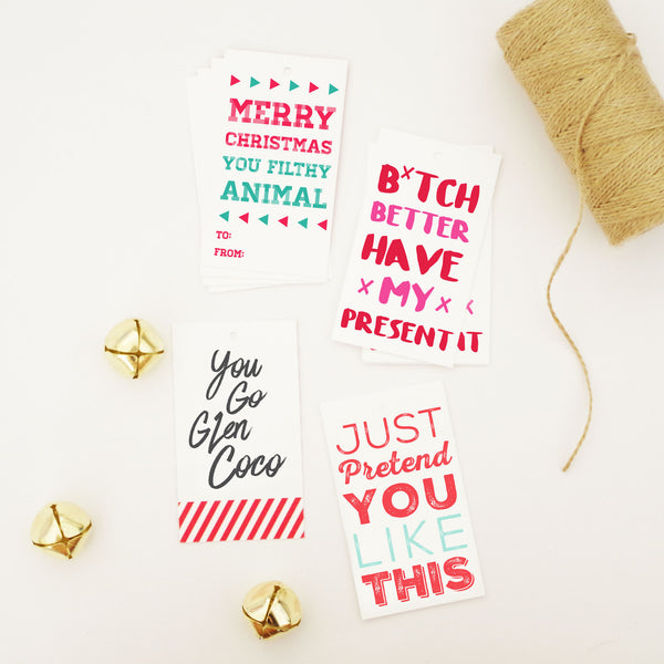 Custom Bundle of Holiday Gift Tags
