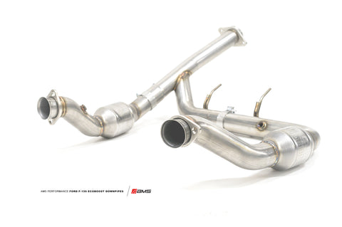 AMS F150 Ecoboost Downpipes