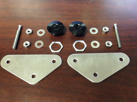 Evolution Dynamics Front Bumper Latch Kit Evo X