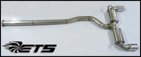 ETS V2 Cat Back Exhaust evo X