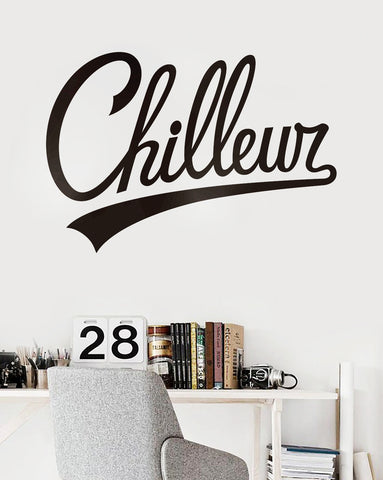 Chilleur Wall Decal / Décalque