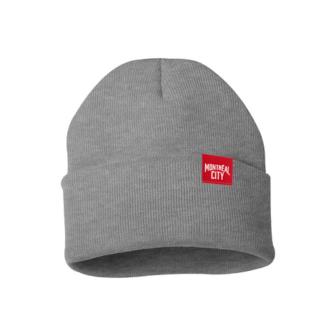 Tuque Montreal City (Gris/Rouge)