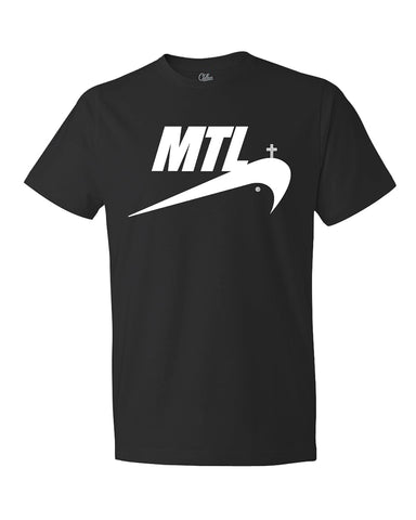 T-Shirt JUST MTL Black Edition