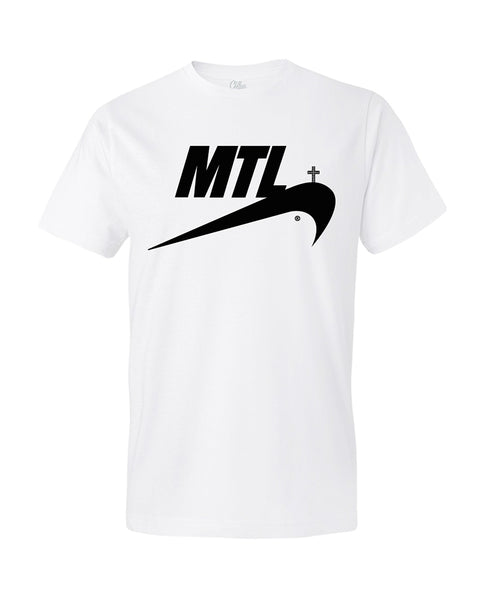 T-Shirt JUST MTL White Edition