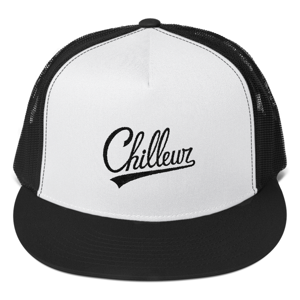 Chilleur Trucker Cap / Black & White