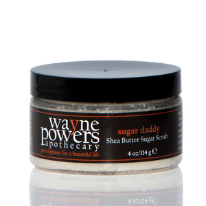 Sugar Daddy Shea Butter Sugar Scrub by Wayne Powers Apothecary