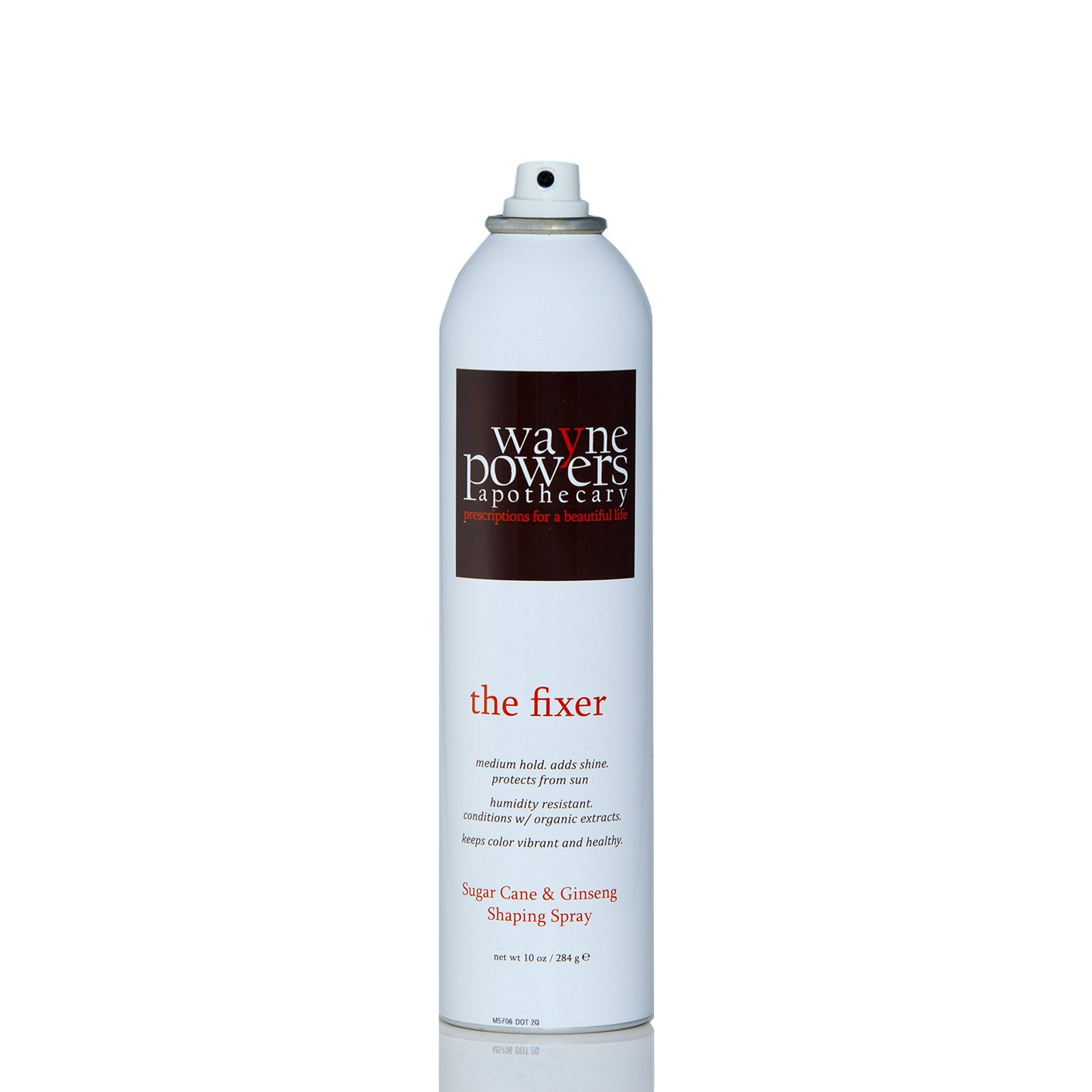 The Fixer Sugar Cane & Ginseng Shaping Spray by Wayne Powers Apothecary