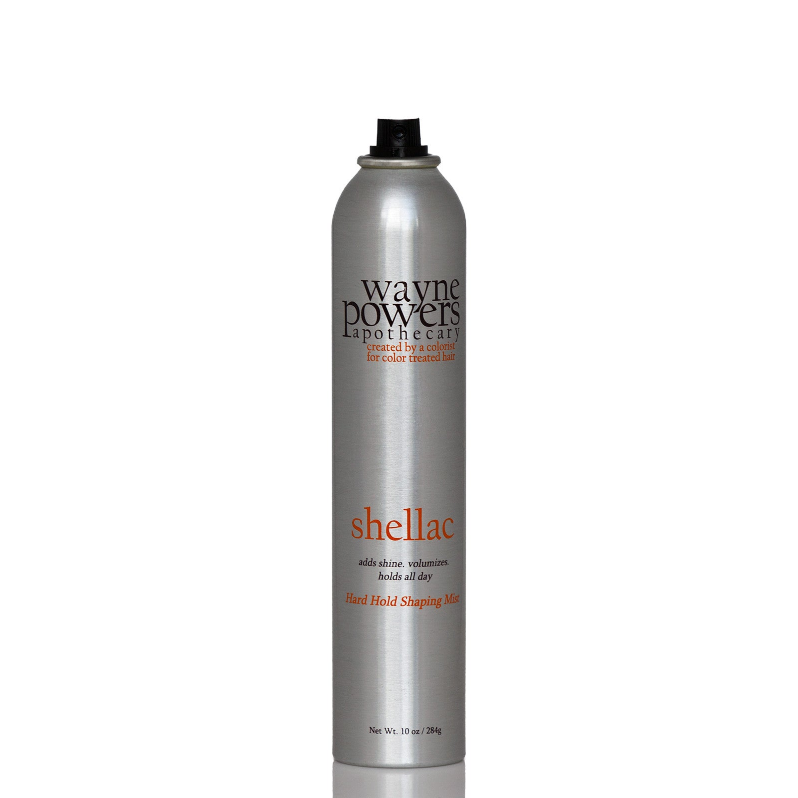 Aluminium can of salon-size Shellac Hard Hold Shaping Mist