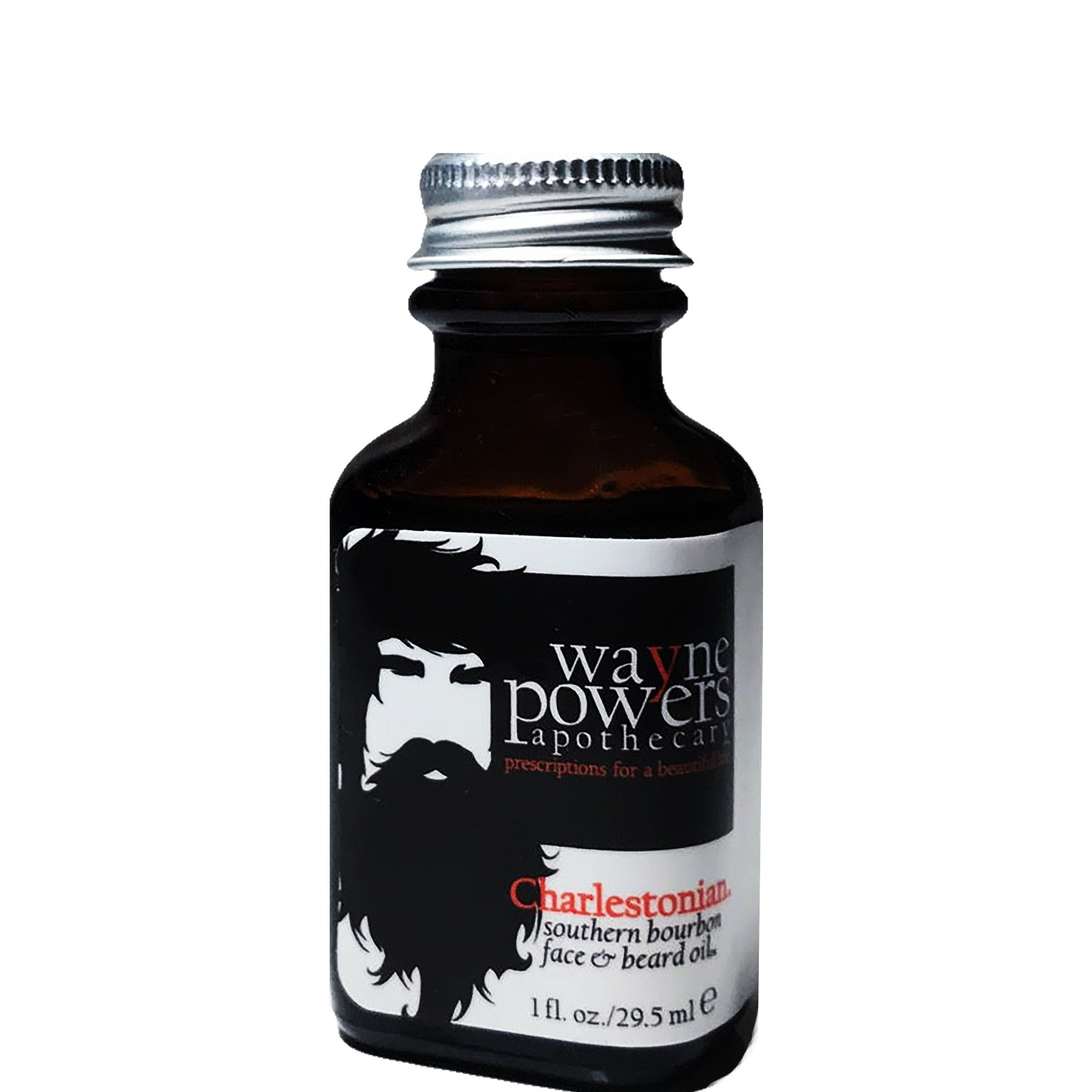 Charlestonian Southern Bourbon Face & Beard Oil by Wayne Powers Apothecary