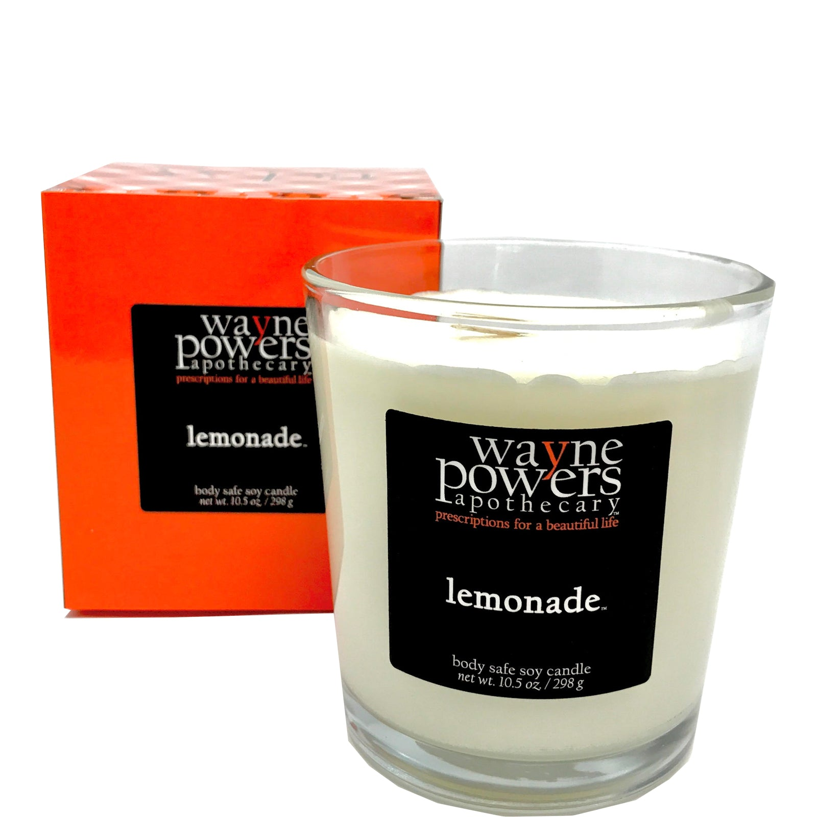 Lemonade Body Safe Soy Candle by Wayne Powers Apothecary