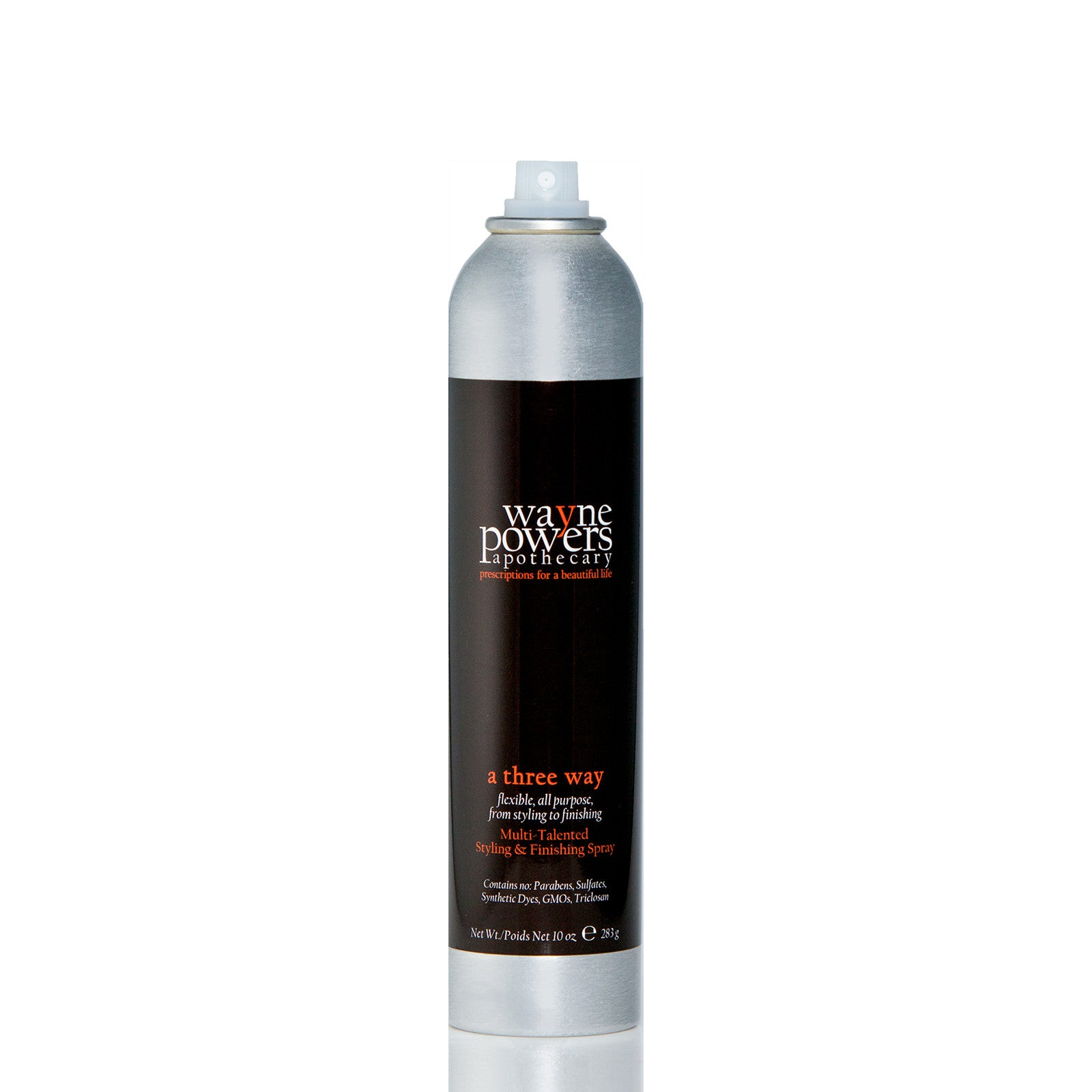 A Three Way Multi-Talented Styling & Finishing Spray by Wayne Powers Apothecary