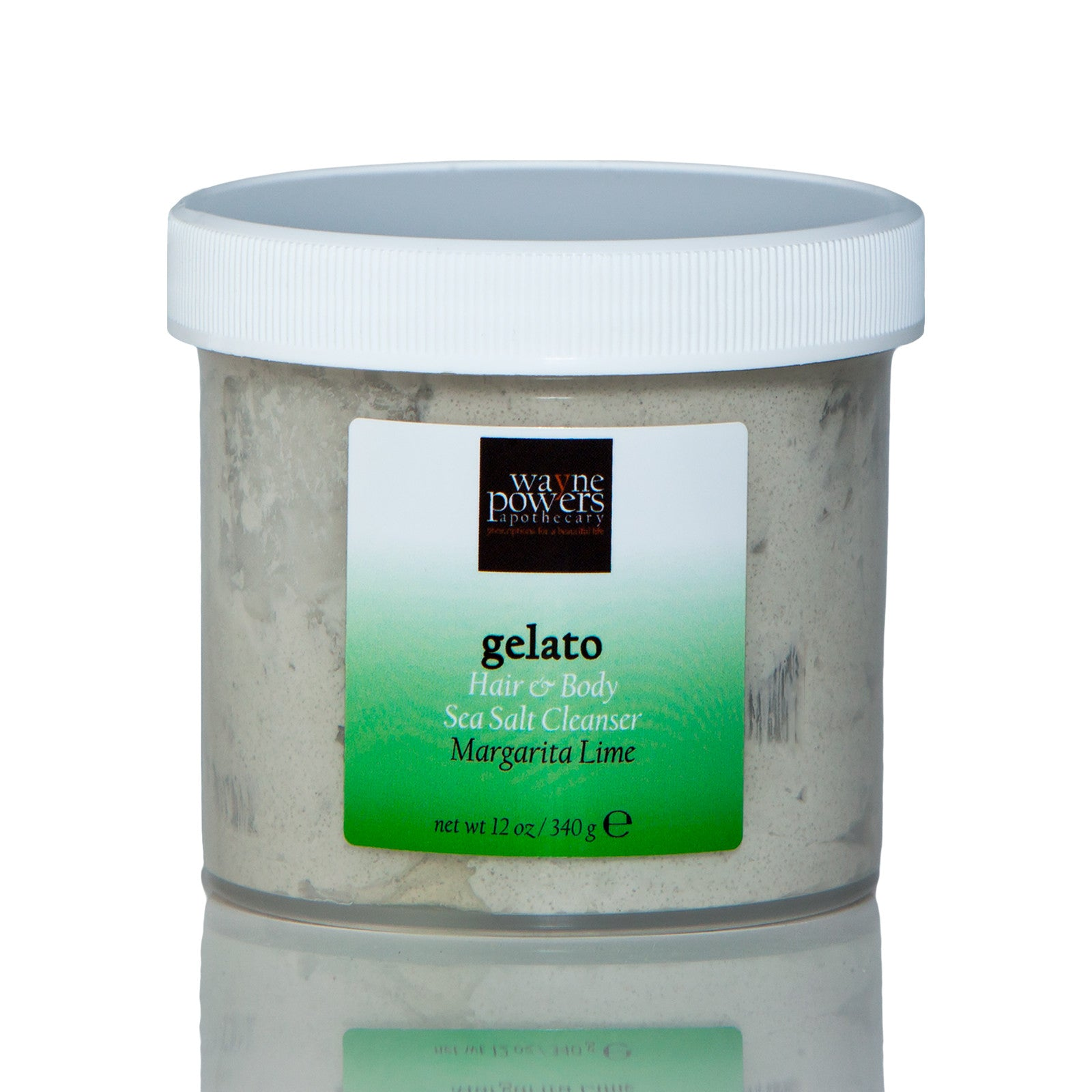 Gelato Maragrita Lime Hair & Skin Sea Salt Cleanser by Wayne Powers Apothecary
