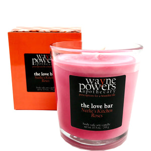 Neelie's Kitchen Roses Body Safe Soy Candle by Wayne Powers Apothecary