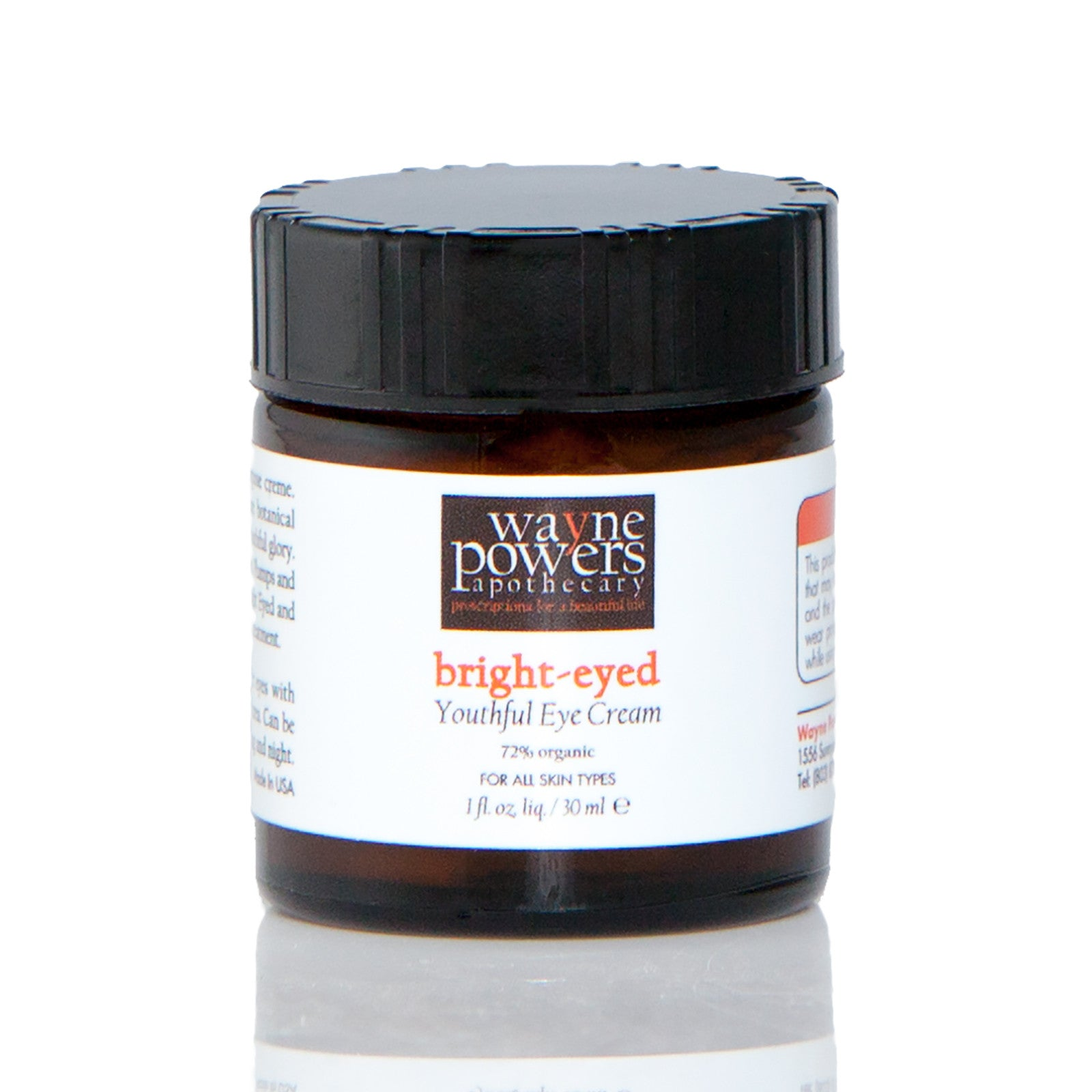 Bright Eye'd Youthful Eye Creme by Wayne Powers Apothecary