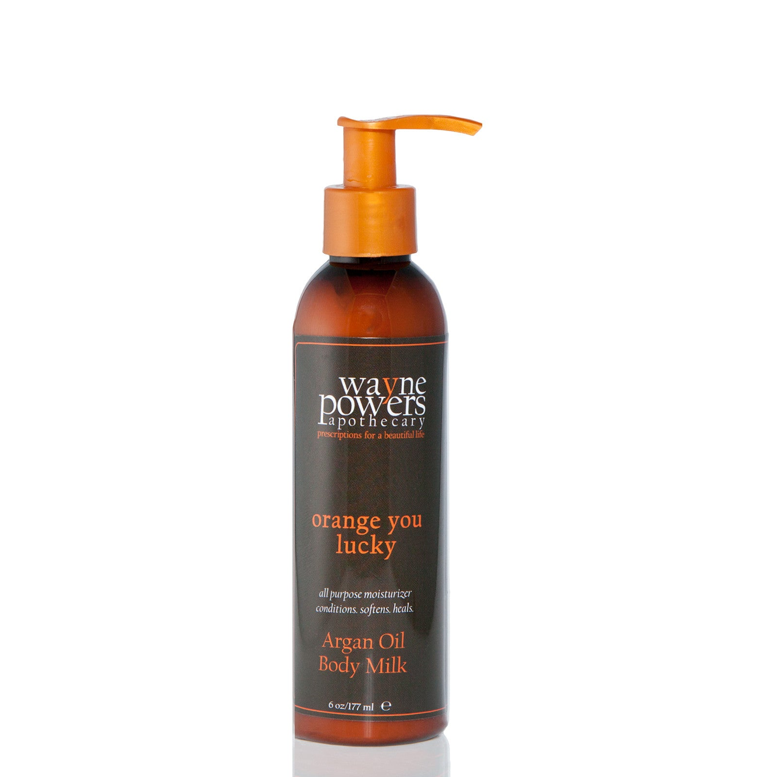 Orange You Lucky Argan Oil Body Milk by Wayne Powers Apothecary