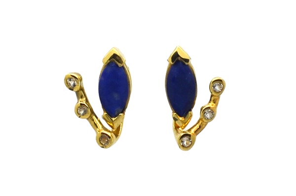 Adele Lapis Lazuli Earrings