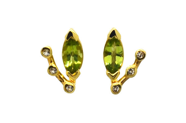 Adele Peridot Earrings