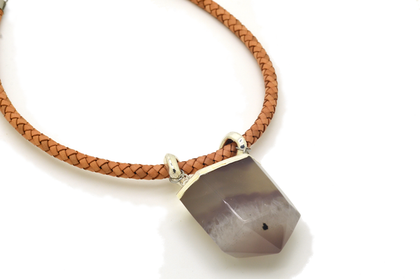 Sarah Agate Necklace