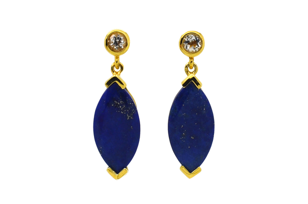 Barbara Lapis Lazuli Earrings