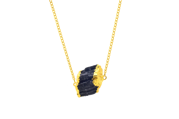Pamela Black Tourmaline Necklace