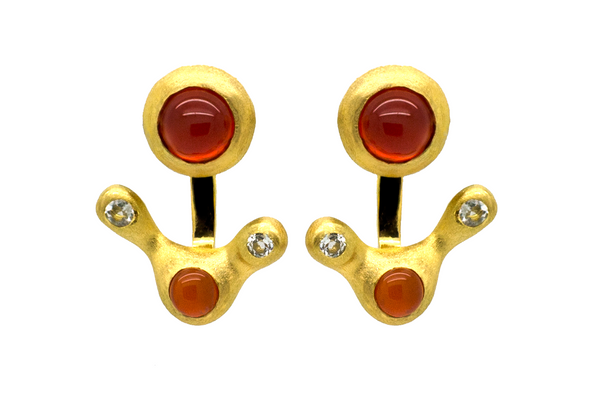 Ursa Carnelian Earrings