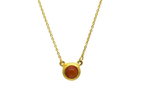 Rachel Carnelian Necklace