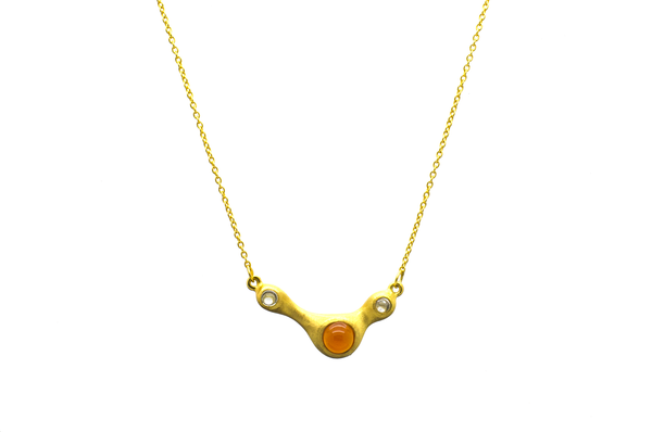 Penelope Carnelian Necklace