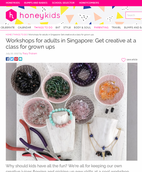Basic Jewellery Making Workshop