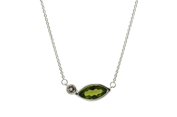 Heidi Peridot Necklace
