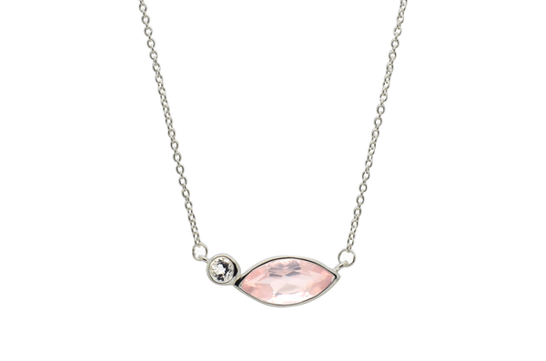 Heidi Rose Quartz Necklace