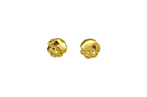 Jaclyn Ruby Ear Studs