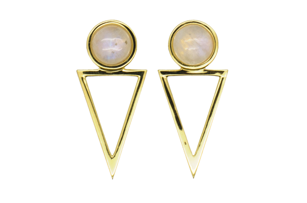 Michelle Moonstone Earring