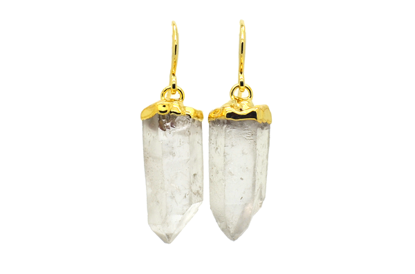 Maddy Lemurian Quartz Earrings