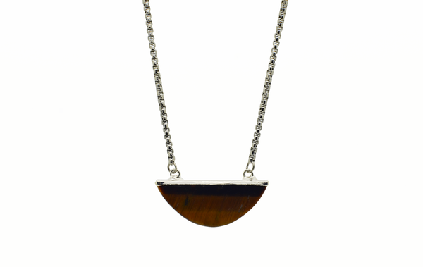 Kimberly Tiger's Eye Necklace