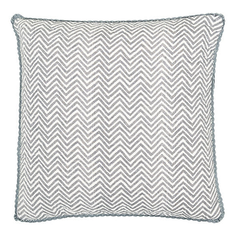 Quilted cushion Ziggy warm grey