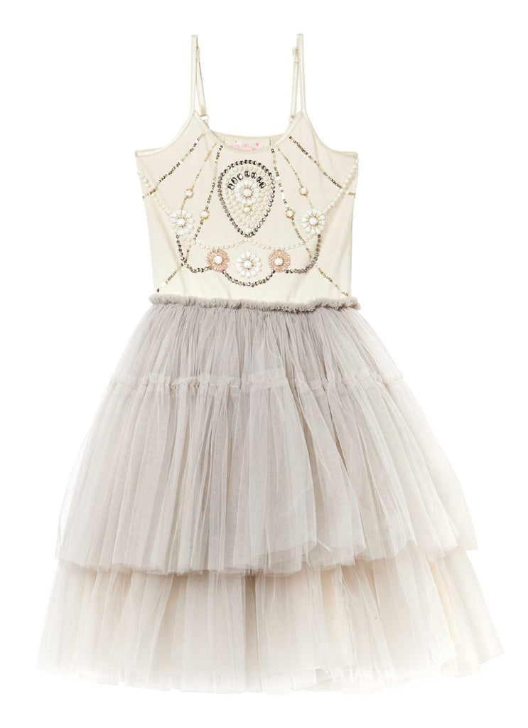 Silver Angel Dress - Champagne